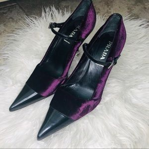 Prada Calzature Donna Bordeaux heels